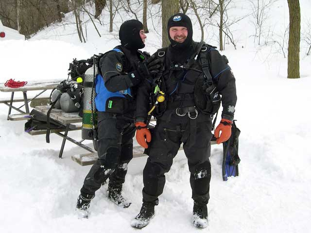 Ice Diving 2010